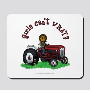 Dark Red Farmer Mousepad