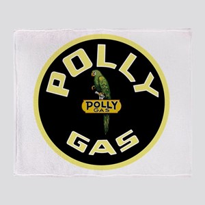 Polly Gas Throw Blanket