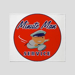 Minute Man Throw Blanket