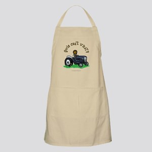 Dark Blue Farmer BBQ Apron