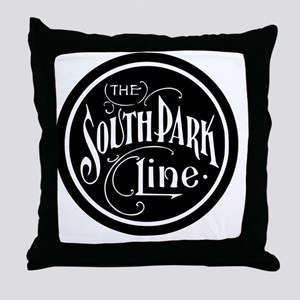 South Park Line Throw Pillow