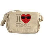 I LOVE PIZZA Messenger Bag