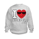 I Love BBQ Sweatshirt