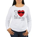 I Love BBQ Long Sleeve T-Shirt