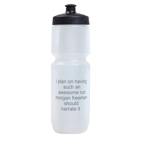 Morgan Freeman cardio Sports Bottle