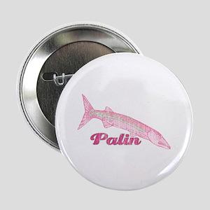 """Palin Barracuda Retro 2.25"""" Button"""