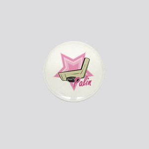 Palin Hockey Mom Mini Button