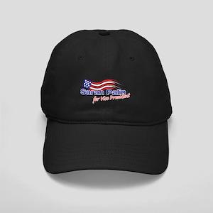 SARAH PALIN FOR VISE PRESIDENT Black Cap