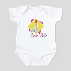 Sarah Palin Retro Lipstick Infant Bodysuit