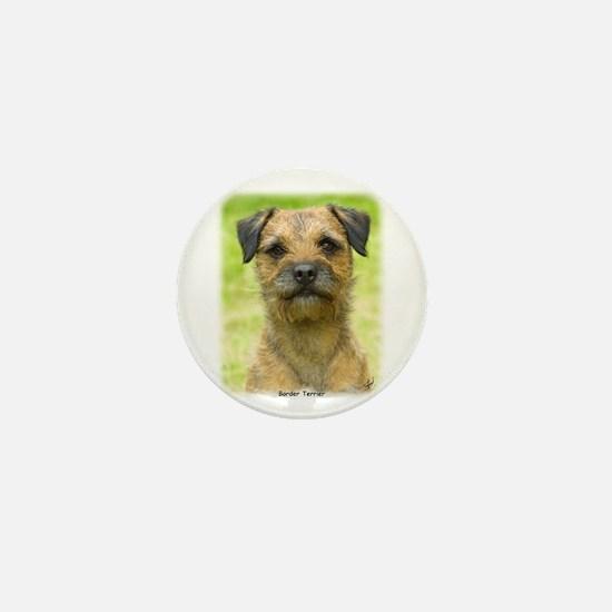 Border Terrier 8W44D-23 Mini Button