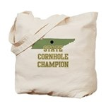 Tennessee State Cornhole Cham Tote Bag