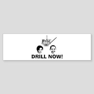 Drill Now Republican Oil Bumper Sticker (10 pk)