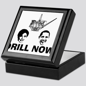 Drill Now Republican Oil Keepsake Box