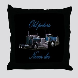 Old Peter Never Die Throw Pillow