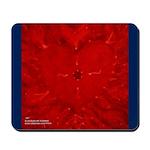 JOY HEART Mousepad with Blue
