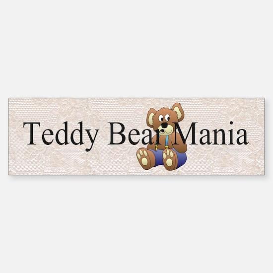Teddy Bear Mania Sticker (Bumper)