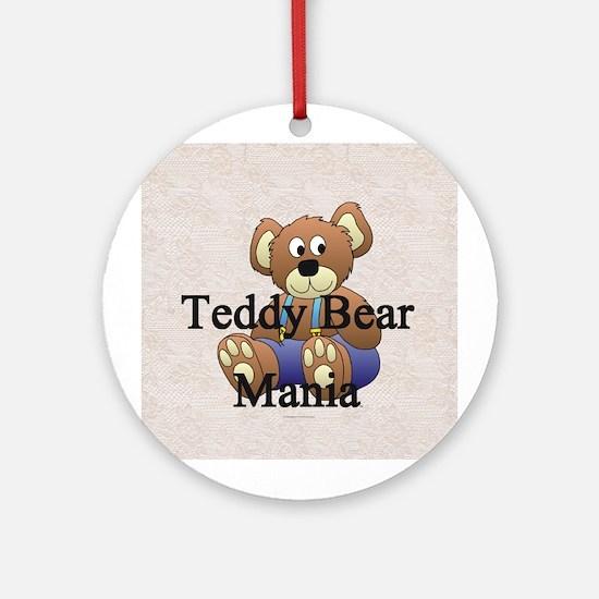 Teddy Bear Mania Ornament (Round)