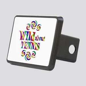Wild About Tennis Rectangular Hitch Cover