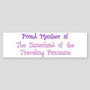 Sisterhood of the Traveling P Bumper Sticker