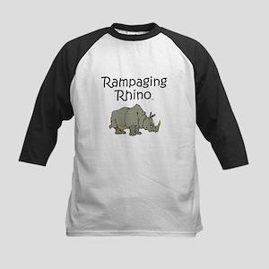 Rampaging Rhino Kids Baseball Jersey