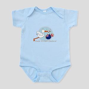 stork baby NZ white Body Suit