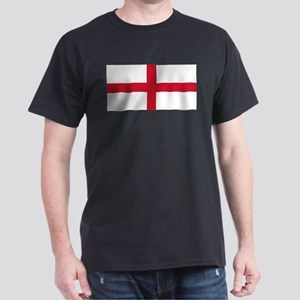 England St George's Cross Flag White T-Shirt