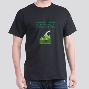 mountaineer gifts t-shirts Dark T-Shirt