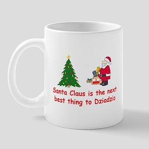 Santa vs Dziadzio Mug