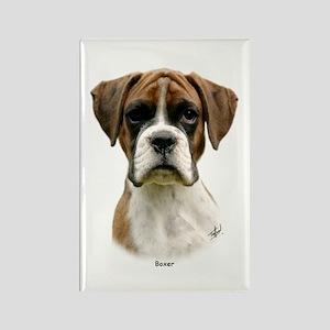 Boxer puppy 9Y049D-044 Rectangle Magnet