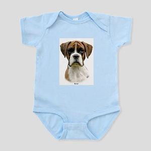 Boxer puppy 9Y049D-044 Infant Bodysuit