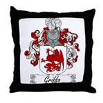 Griffo Family Crest Throw Pillow
