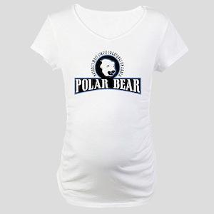 Polar Bear Maternity T-Shirt