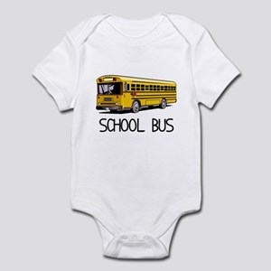 School Bus Infant Bodysuit