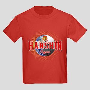 Hanshin Tigers Kids Dark T-Shirt