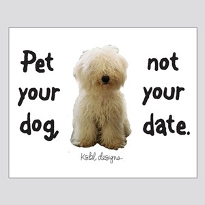 Pet Your Dog Small Poster