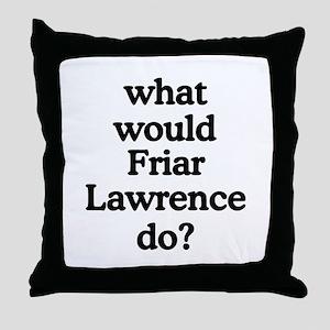 Friar Lawrence Throw Pillow