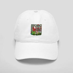 Santa's Helper Bulldog Cap