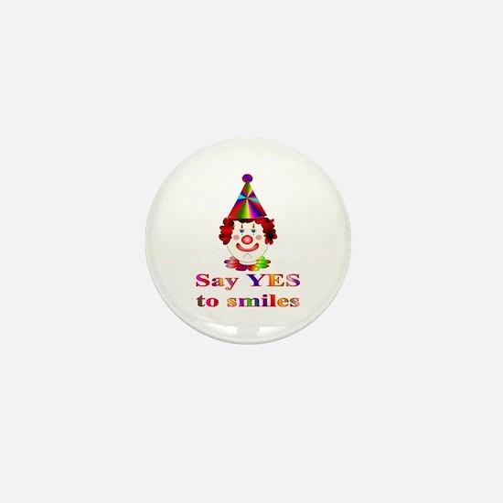 Smiles Mini Button