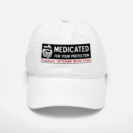 Medicated for Your Protection Baseball Baseball Cap