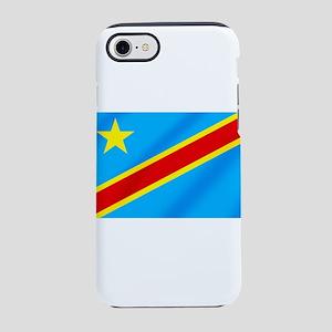 Congolese Flag iPhone 8/7 Tough Case