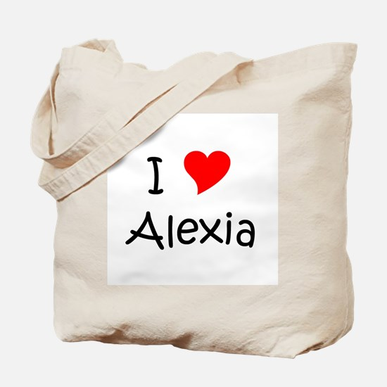 Cute Alexia Tote Bag