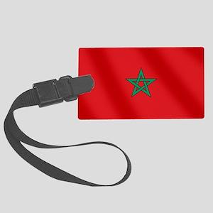 Flag of Morocco Luggage Tag