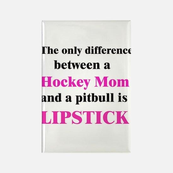 Palin Hockey Mom Pitbull Lipstick Rectangle Magnet