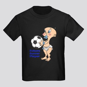 Future Soccer Player Kids Dark T-Shirt