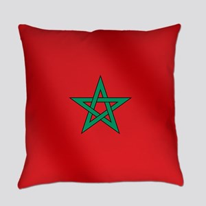 Flag of Morocco Everyday Pillow