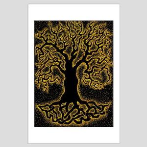 Magic Celtic Tree Large Poster