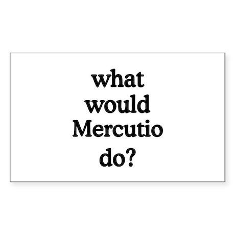 Mercutio Rectangle Sticker