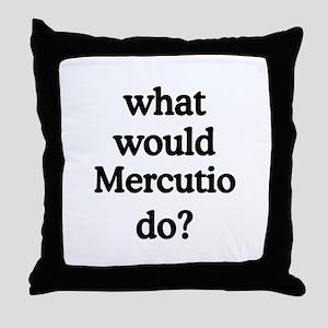 Mercutio Throw Pillow