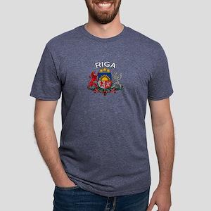 Riga, Latvia Coat of Arms (Da T-Shirt