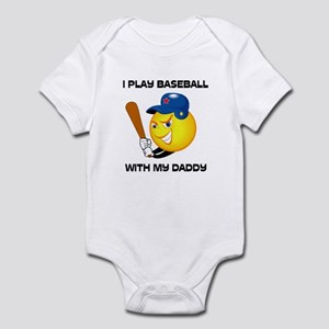 Play Baseball With Daddy Infant Bodysuit
